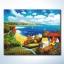รหัส HB4050034 ภาพระบายสีตามตัวเลข Paint by Number แบบ Colorful Autumn ขนาด40x50cm/พร้อมส่ง thumbnail 1