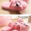 รองเท้าใส่ในบ้าน ออฟฟิศ ฮัลโหลคิตตี้ Hello kitty#11 ขนาด free size พื้นสีชมพู thumbnail 6