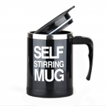 Self Stirring Mug แก้วปั่นออโต้เก็บความเย็น/ความร้อน สีดำ