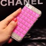 เคสไอโฟน6/6S เคส คริสตัส สีชมพู