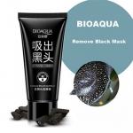 โคลนมาร์คหน้า ถ่านภูเขาไฟ BIOAQUA ลอกสิวเสี้ยน Remove Blackhead Mask
