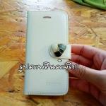 เคสไอโฟน5/5S เคสคริสตัส สีขาว มีตำหนินิดหน่อยค่ะ