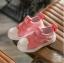 รองเท้าMหัวยางลายหอยแถบไขว้ สีชมพู thumbnail 3