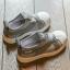 #รองเท้าMหัวยางลายหอยแถบไขว้ สีเทา thumbnail 2