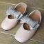 รองเท้าคัทชู #โบว์วิ้ง #หนังpu นิ่ม สีชมพูเบจ thumbnail 4