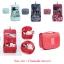 กระเป๋าแขวนใส่อุปกรณ์อาบน้ำและเครื่องสำอาง ผ้าฟอร์ด ลายต่างๆ thumbnail 1