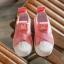 รองเท้าMหัวยางลายหอยแถบไขว้ สีชมพู thumbnail 5