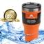 แก้วเก็บเย็น ozarktrail ของแท้ 100% คุณภาพเหมือน yeti ขนาด 30 Oz. สีส้ม thumbnail 1