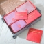 กระเป๋าจัดระเบียบเสื้อผ้าในกระเป๋าเดินทาง 6 ใบ/เซ็ต สีพื้น thumbnail 7