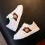 รองเท้ากีฬาPU#แบบแปะเมจิกเทป#แถบธงเมเปิ้ล thumbnail 2