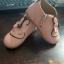 รองเท้าหนังหุ้มส้นหนังพียู หน้ากระต่าย สีชมพู thumbnail 3