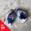 รองเท้าผ้าใบแบบแปะเมจิกเทป สีน้ำเงิน thumbnail 1