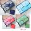 กระเป๋าจัดระเบียบเสื้อผ้าในกระเป๋าเดินทาง 6 ใบ/เซ็ต สีพื้น thumbnail 1