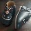 รองเท้าหนังหุ้มส้นหนังพียู หน้ากระต่าย สีดำ thumbnail 4