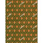 ผ้าลายไทยโจงกระเบน no.0006 สีเขียวตอง 3.60ม.