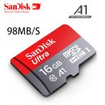 SanDisk Ultra MicroSDHC UHS-I SDCard 16GB Class 10 (98MB/s 653X)