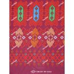 ผ้าถุงเอมจิตต์ ecec10442 แดงหมู