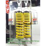 (PCX) โช้คอัพหลังคู่ YSS รุ่น New G-Plus (4G) สำหรับ Honda PCX และ Nuovo อิลิแกนซ์ สี ดำ/เหลือง