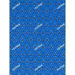 ผ้าลายไทยโจงกระเบน no.0006 สีฟ้า 3.60ม.