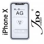 ฟิล์มกระจก iPhone X JDO (ฟิล์มด้าน) สีดำ