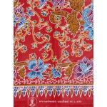 ผ้าถุงแม่พลอย mp11499 แดง