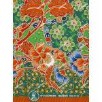 ผ้าถุงแม่พลอย mp0123 เขียว