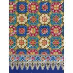 ผ้าถุงเอมจิตต์ ec11521 น้ำเงินฟ้า