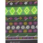 ผ้าถุงเอมจิตต์ ec10456B ดำเขียว