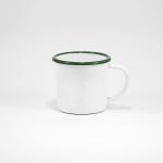 White/Green rim