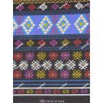 ผ้าถุงเอมจิตต์ ec10456B ดำน้ำเงิน