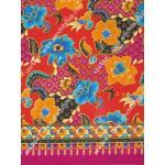 ผ้าถุงไซส์ใหญ่ mpx2584 สีม่วง-แดง
