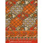 ผ้าถุงเอมจิตต์ ec11498 ส้ม