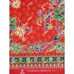 ผ้าถุงแม่พลอย mp11501 แดง