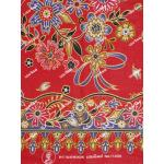 ผ้าถุงแม่พลอย mp11496 แดง