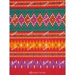 ผ้าถุงเอมจิตต์ ec10460 แดง
