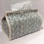 Tissue Case (Chevron-Blue)