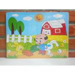 จิ๊กซอว์ 24 ชิ้น : ลายฟาร์มกระต่าย