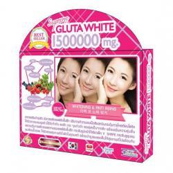 Supreme GLUTA WHITEซุปเปอร์มีกลูต้าไวท์ ผิวขาวออร่า