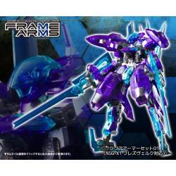 Frame Arms 1/100 NSG-X1 Hresvelgr Limited Clear Ver. Plastic Model