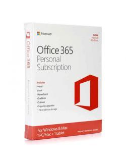 Microsoft Office 365 Personal (QQ2-00570) English APAC EM Subscr 1YR Medialess P2