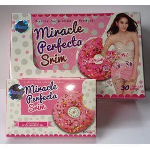 โดนัท มิราเคิลเพอร์เฟคต้า สริม Miracle Perfect Slim อาหารเสริมลดน้ำหนัก
