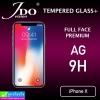 ฟิล์มกระจก iPhone X JDO (ฟิล์มด้าน) ราคา 130 บาท ปกติ 350 บาท
