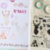ตัวปั้มใส-Clear Stamp-English Word