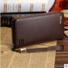 พร้อมส่ง กระเป๋าสตางค์ใบยาว คลัทซ์และสายคล้องมือ แฟชั่นเกาหลี ยี่ห้อ baellerry รหัส BA-S1217-4 สีน้ำตาล 1 ใบ*ไม่มีกล่อง