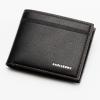 พร้อมส่ง กระเป๋าสตางค์ใบสั้นผู้ชาย นักธุรกิจ แฟชั่นเกาหลี ยี่ห้อ baellerry รหัส BA-BR003 สีดำ 1 ใบ *ไม่มีกล่อง