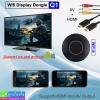 Wifi display Dongle Q1 (HDMI + AV) ราคา 560 บาท ปกติ 1,400 บาท