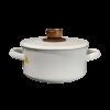 20cm Enamel Cooking Pot w/ Lid