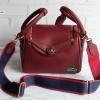 พร้อมส่ง ADB-3388 สีแดงเข้ม กระเป๋าแฟชั่นสไตล์ HM-Lindy-26 เกรดพรีเมี่ยมพร้อมสายสปอร์ตแบบปรับได้ มีถุงผ้า*ไม่ปั๊มแบรนด์