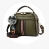 พร้อมส่ง กระเป๋าถือและสะพายข้างสตรี รหัส KO-320 สีเขียว 1 ใบ*แถมจี้ป๋อม