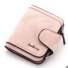 พร้อมส่ง กระเป๋าสตางค์ใบสั้นขนาดเล็ก กระเป๋าสตางค์นักเรียนน่ารัก แฟชั่นเกาหลี ยี่ห้อ baellerry รหัส BA-N2346 สีชมพูอ่อน 2 ใบ